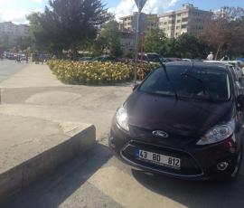 araba parkı